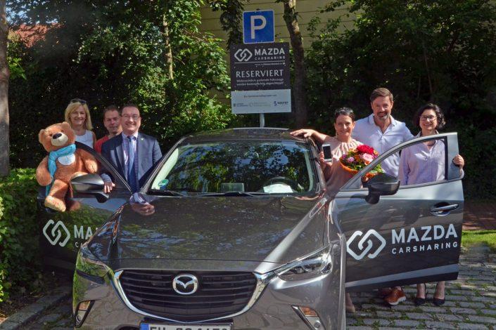 Hallbergmoos_Carsharing_Saurer_Mazda